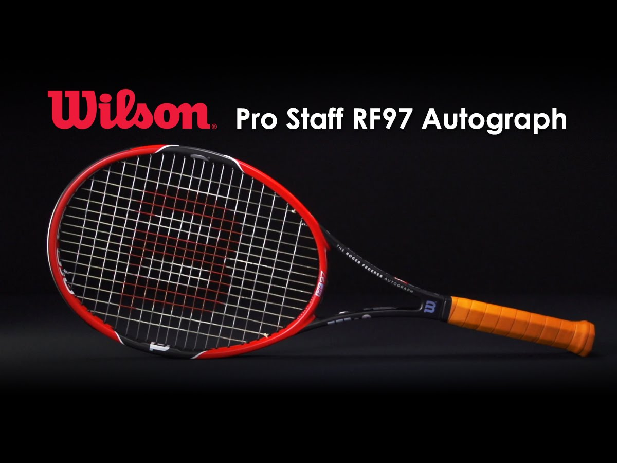 wilson pro staff rf97 autograph tennis racquet world tennis. Black Bedroom Furniture Sets. Home Design Ideas