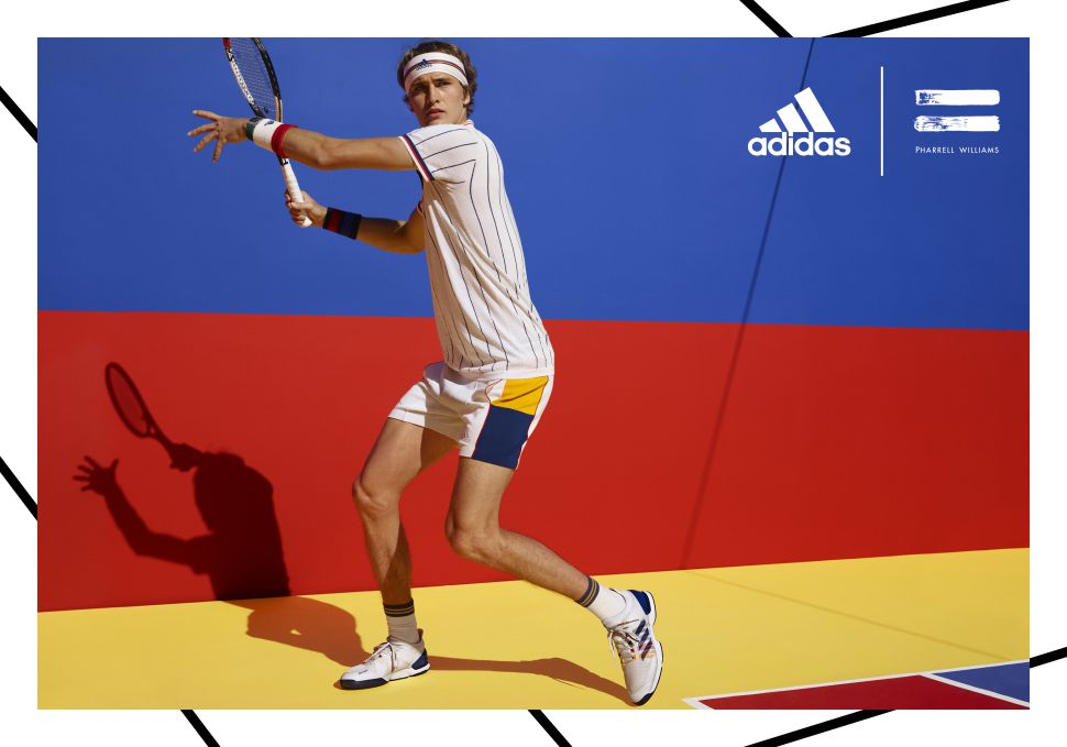 c87f140e2ad11 The adidas Tennis Collection By Pharrell Williams - World Tennis