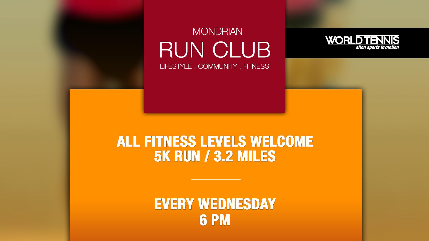 Mondrian Run Club Miami Beach - World Tennis Alton Sports in Motion