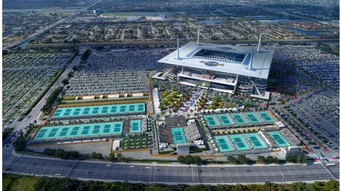 Miami Open Tournament Moves To Hard Rock Stadium In 2019